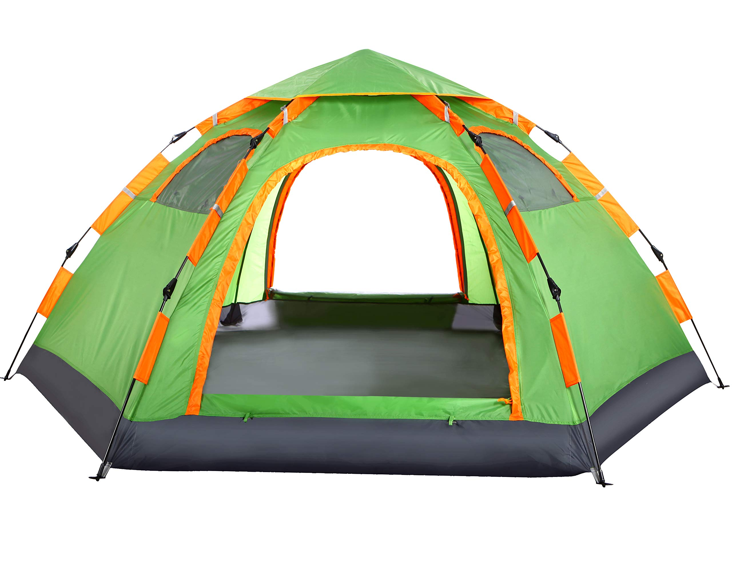 wnnideo instant family tent 6 person large automatic pop up tents waterproof new 667673840236 ebay. Black Bedroom Furniture Sets. Home Design Ideas
