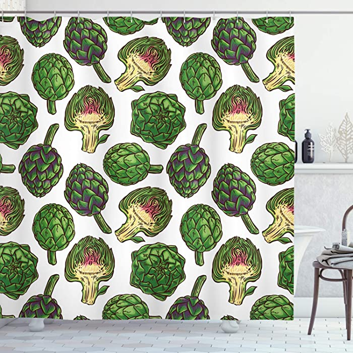 Top 9 Food Print Curtains