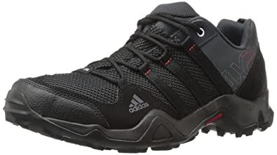 ff7367e426a adidas outdoor Men s AX2 Hiking Shoe Dark Shale Black Light Scarlet 9.5 ...