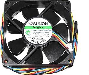 80x80x20mm MF80201VX-Q000-S99 12V 3.84W 0.32A 4Wire 8cm for Dell Optiplex 990 9DVNN Cooler Case Fan