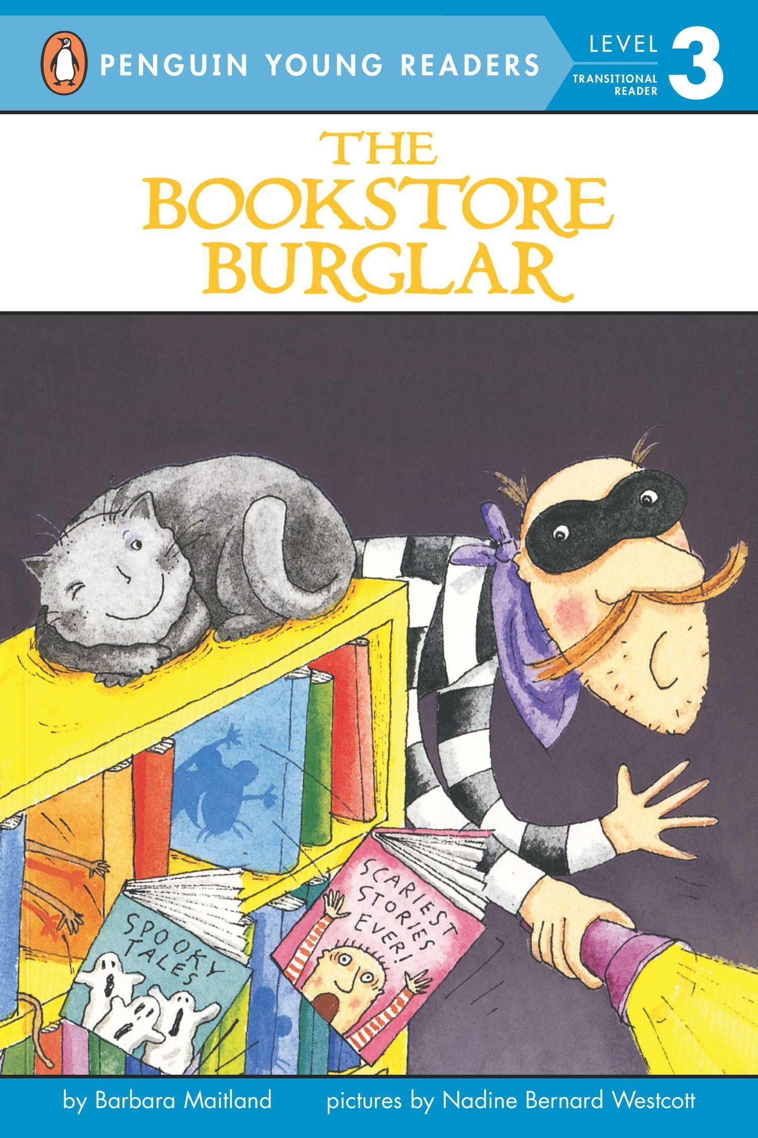 Amazon.com: The Bookstore Burglar (Penguin Young Readers, Level 3)  (9780141310336): Barbara Maitland, Nadine Bernard Westcott: Books