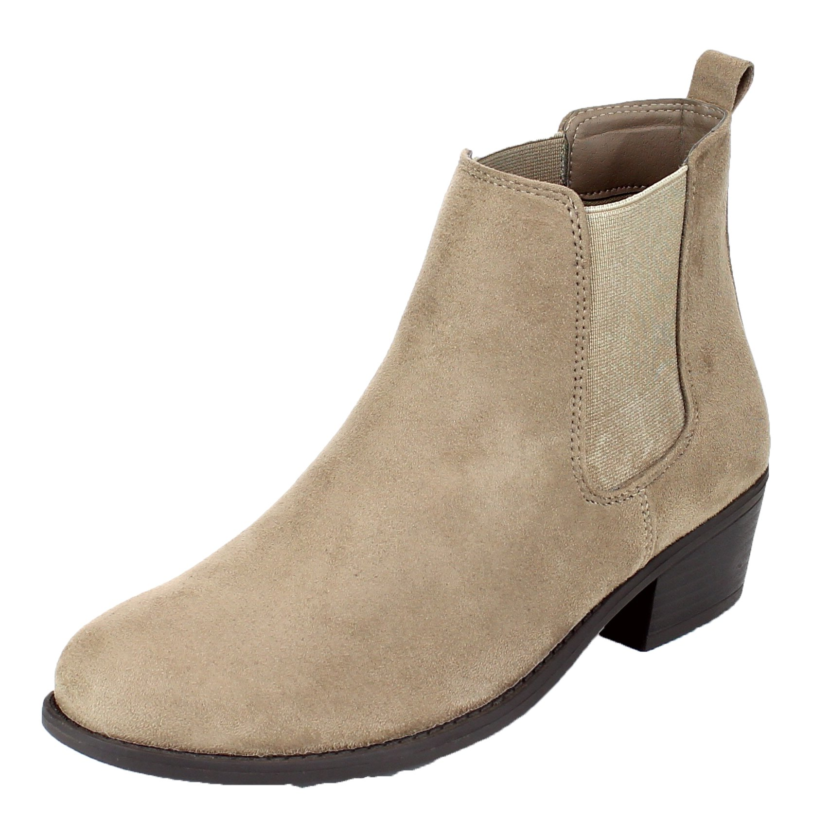 Refresh Women's Tildon-03 Ankle Boot, Taupe 7 B(M) US