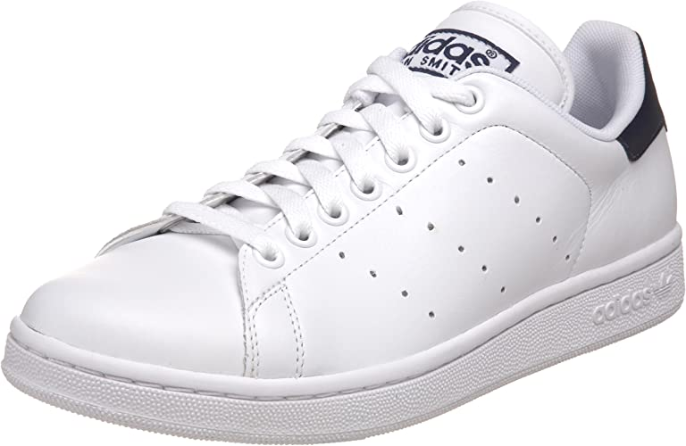 Penetrar Pef Vigilancia  Adidas - Stan Smith 2 Mens Shoes In White / White / Navy, Size: 9 UK,  Color: White / White / Navy: Amazon.co.uk: Shoes & Bags