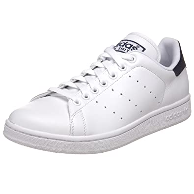 bf062ebfa Adidas - Stan Smith 2 Mens Shoes In White / White / Navy, Size: 9 UK,  Color: White / White / Navy: Amazon.co.uk: Shoes & Bags