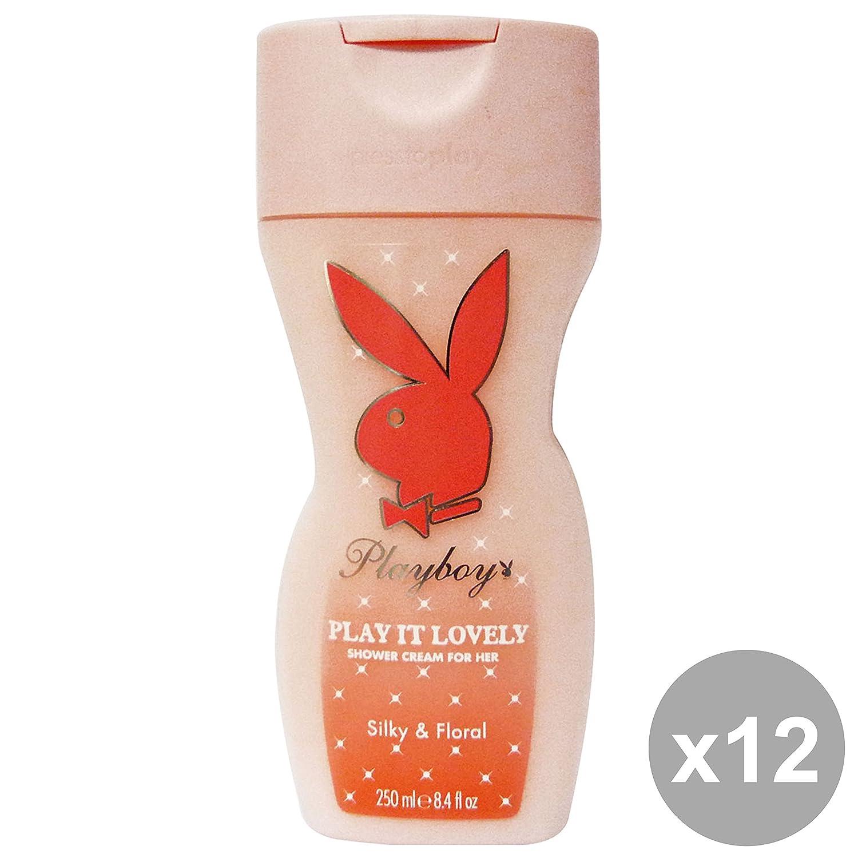 Playboy Set 12Dusche Damen Lovely 250ml Seifen und Kosmetik
