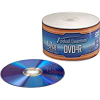 Optical Quantum OQDMR16WIPH-50SP Discos Grabables DVD-R, 16x, 4.7 GB, Cubierta Blanca Imprimible con Inyección de Tinta, Torre de 50 Unidades