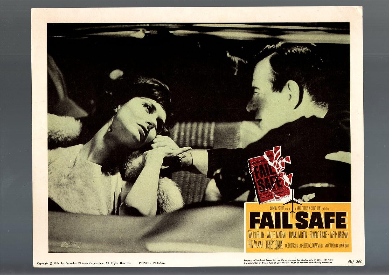 : MOVIE POSTER: FAIL SAFE LOBBY CARD 1964 WALTER
