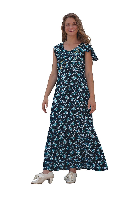 1930sStyleFashionDresses April Cornell WomenS Helena Dress $74.99 AT vintagedancer.com