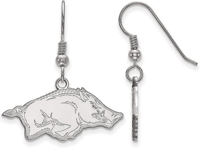 NCAA Arkansas Razorbacks Dangler Earrings