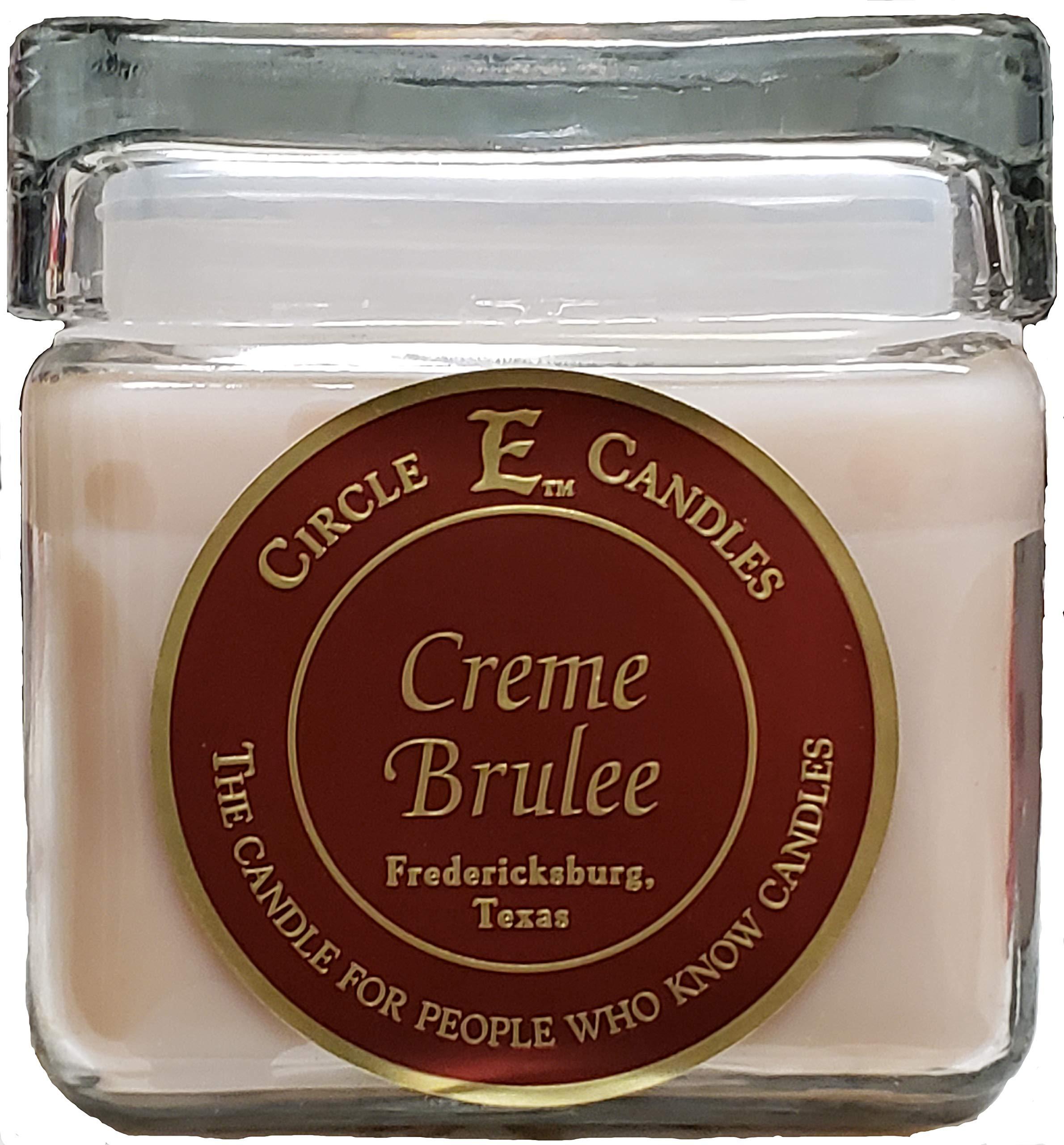 Circle E Candles 28oz Creme Brulee