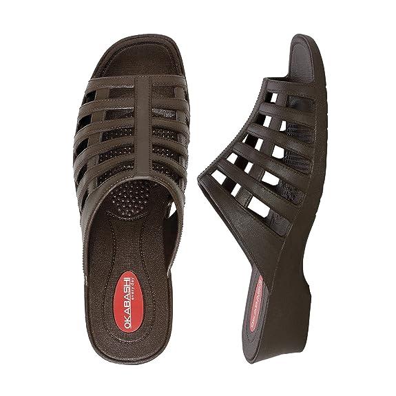 Amazon Com Okabashi Women S Sienna Flip Flops Sandals Slides
