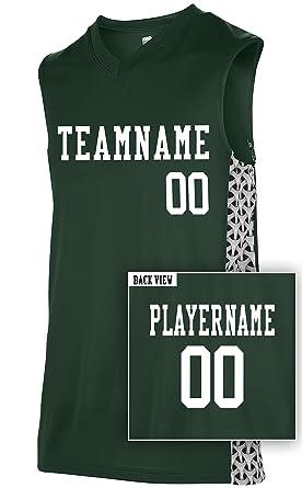cf04f0fa1b1 Amazon.com  Adult Custom Mettle Basketball Jersey