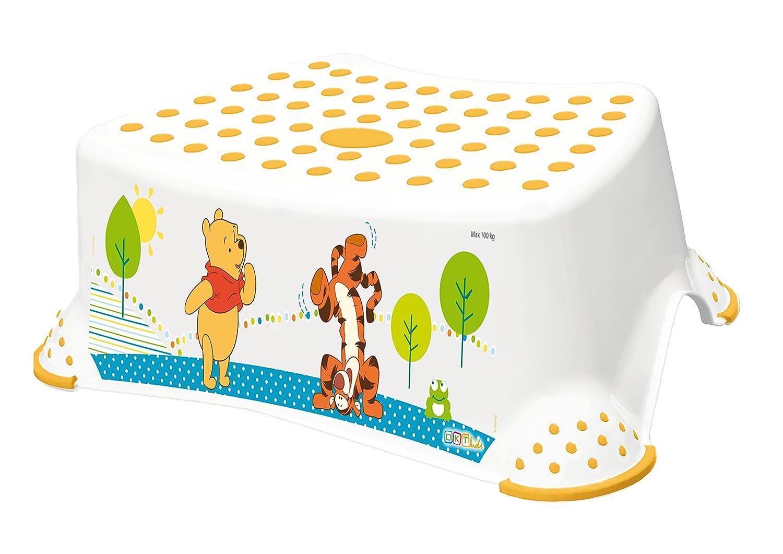 Disney Winnie Pooh weiß 2er Set WC Aufsatz + Hocker Toilettentrainer OKT Kids