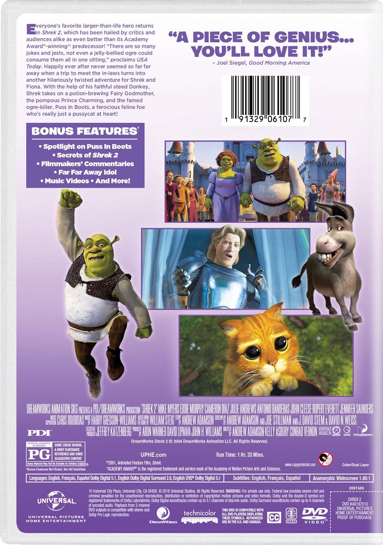 SHREK 2 - SHREK 2 (1 DVD): Amazon.de: DVD & Blu-ray