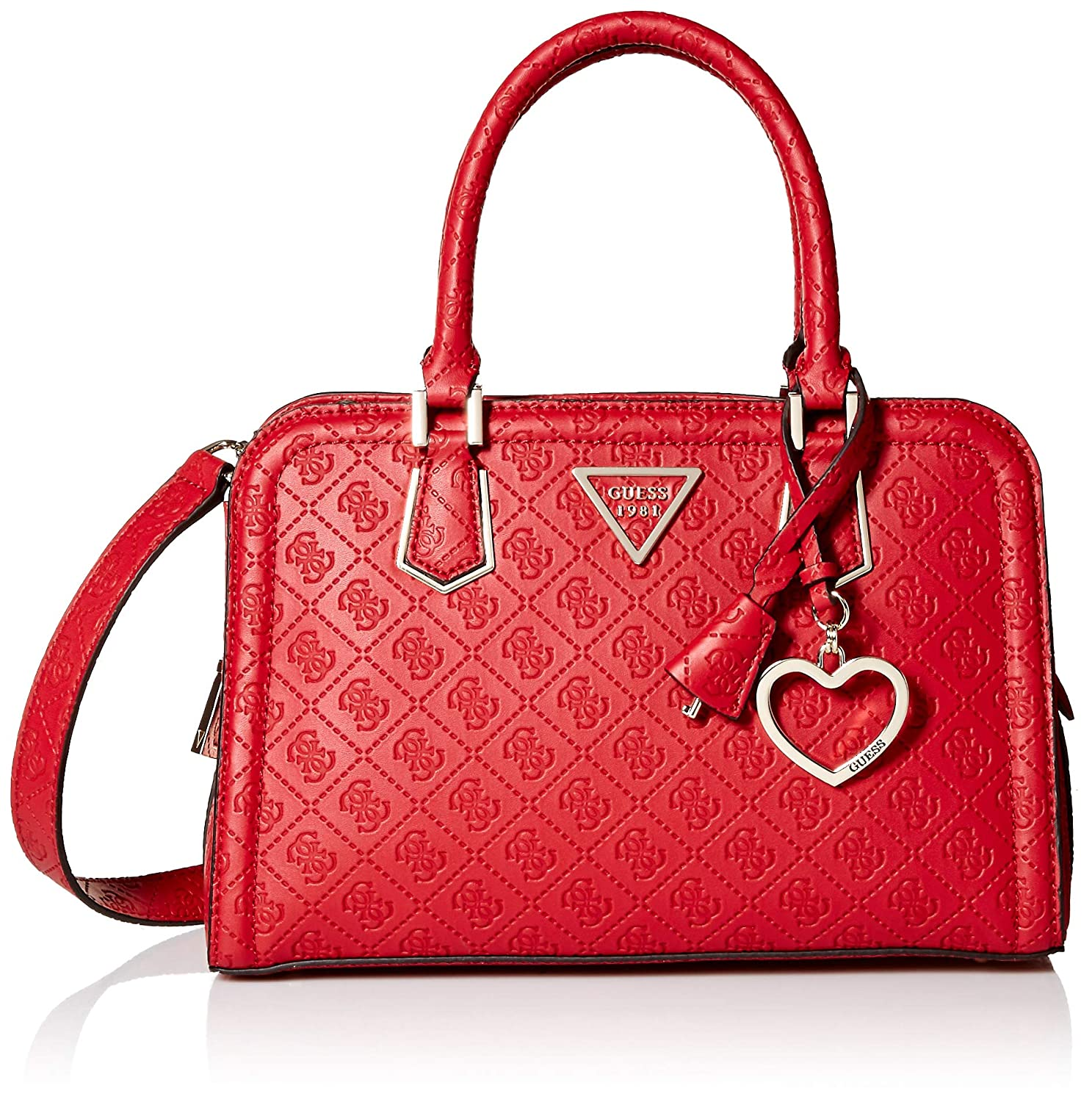 cute cheap official outlet for sale Guess Lyra Sac à Main ,Rouge,Taille unique
