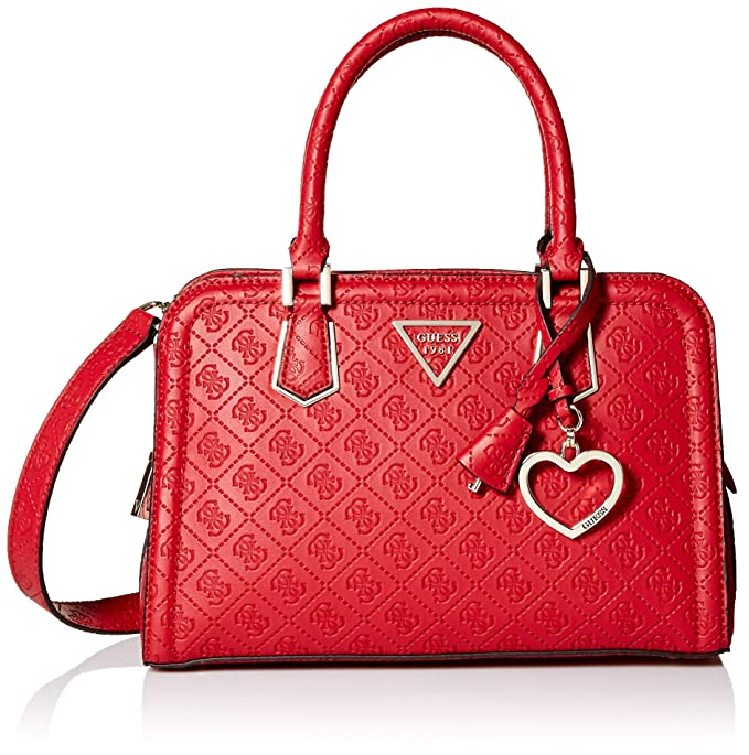 GUESS Lyra Small Girlfriend Satchel bb133328a6