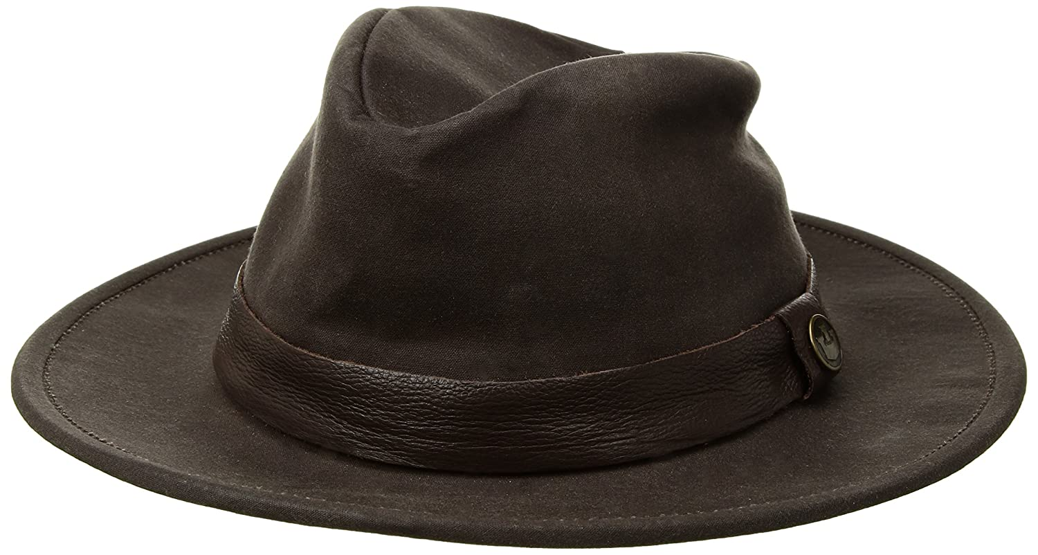 Goorin Bros Mens San Pedro Rock Weather Resistant Fedora Hat Made in USA