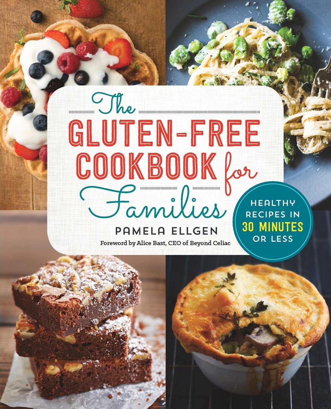 Gluten Free Cookbook Families Healthy product image
