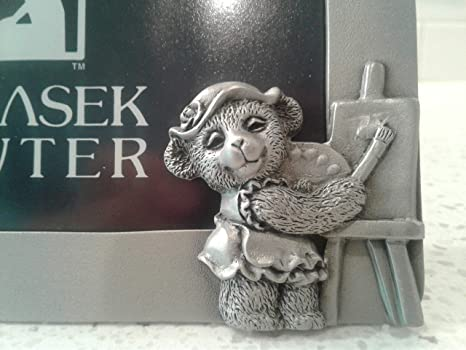 Schwantes Trading Company Pewter Bear Frame Work Together 4 by 8