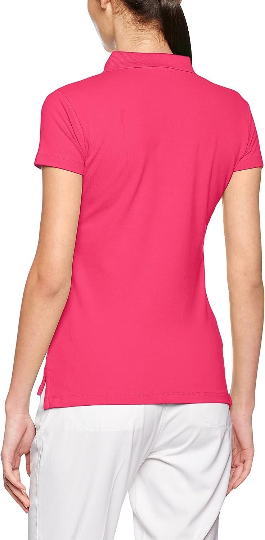 James /& Nicholson Damen Ladies/´ Elastic Piqu/é Polo Poloshirt