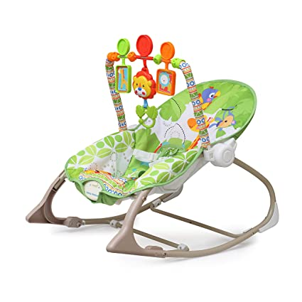 eae7f3dff175 The Flyers Bay Fiddle Diddle Baby Bouncer Cum Rocker with Vibration ...