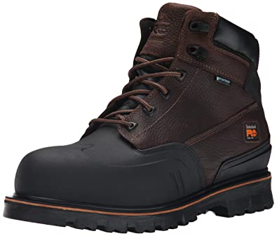 6fb4113a Timberland PRO Men's 6 Inch Rigmaster XT Steel Toe Waterproof Work Boot,  Brown Tumbled Leather
