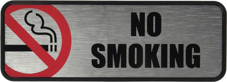 COSCO No Smoking Image//Message Sign COS098207