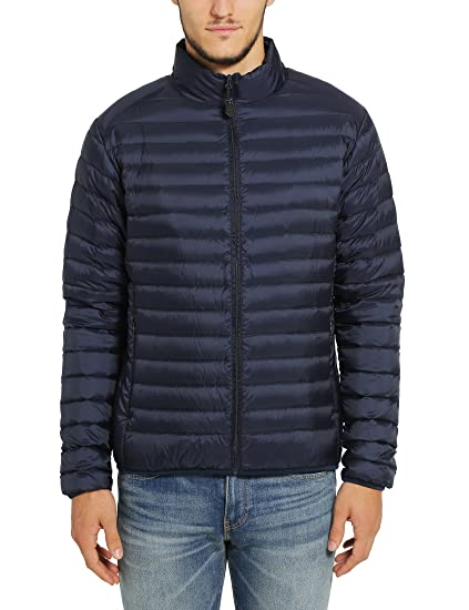 James Tyler Herren Daunenjacke, Ultra Light Down, wasserabweisend