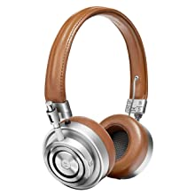 Master & Dynamic MH30 Foldable Premium Leather On-Ear Headphones with Superior Sound Quality and Highest Level of Design - Brown Leather