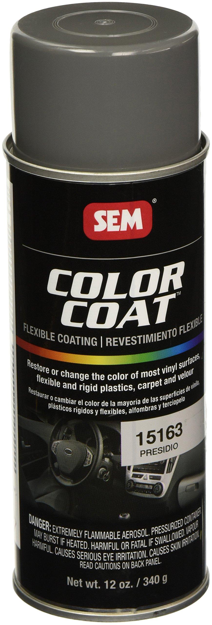 SEM Products 15163 Presidio Color Coat - 12 oz.