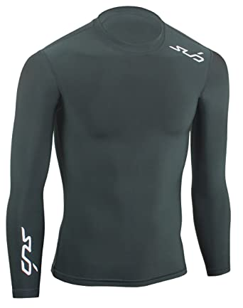 82cea6085c Sub Sports COLD Boy's Thermal Compression Baselayer Long Sleeve Top:  Amazon.co.uk: Clothing