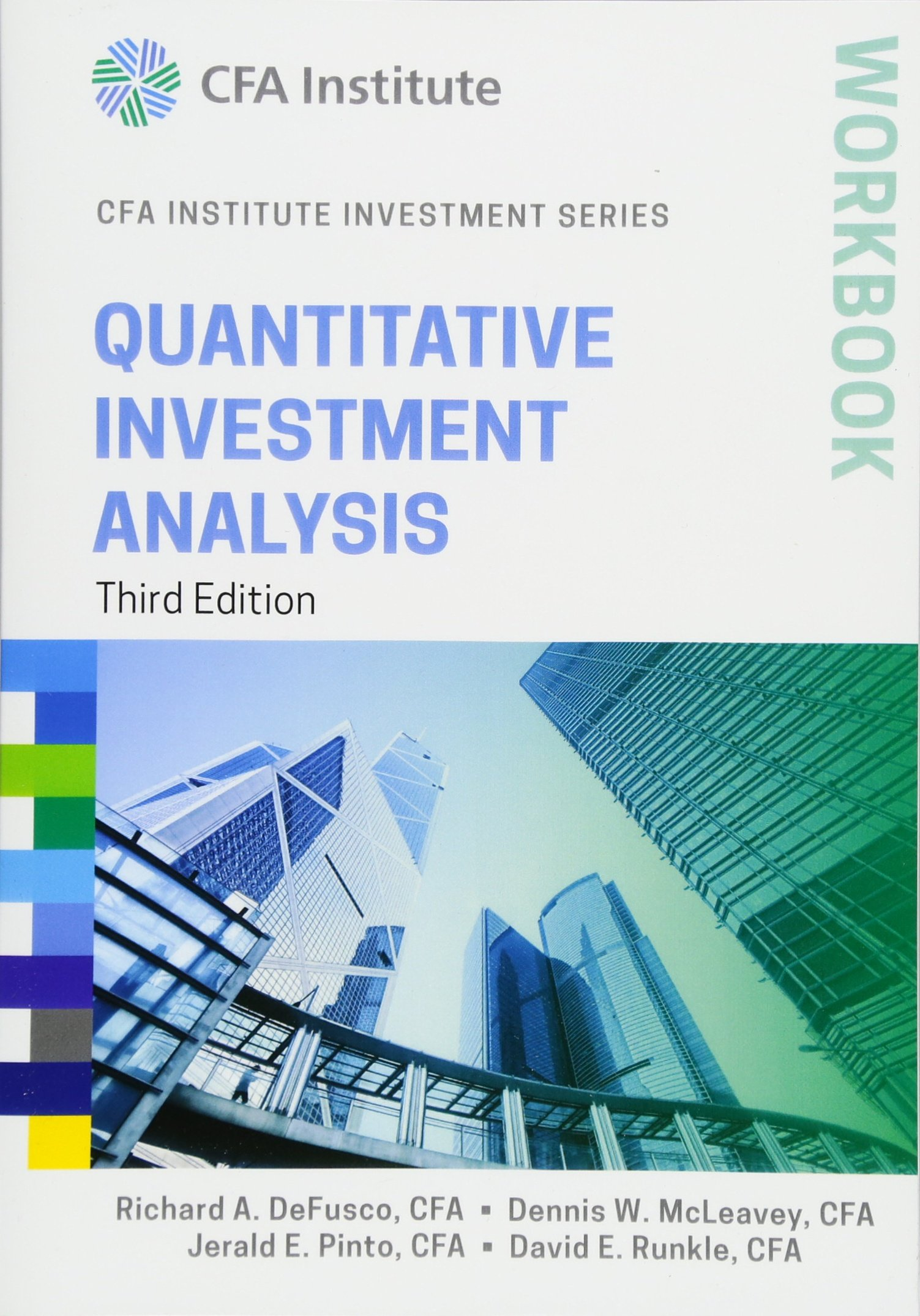 amazon quantitative investment analysis workbook cfa institute