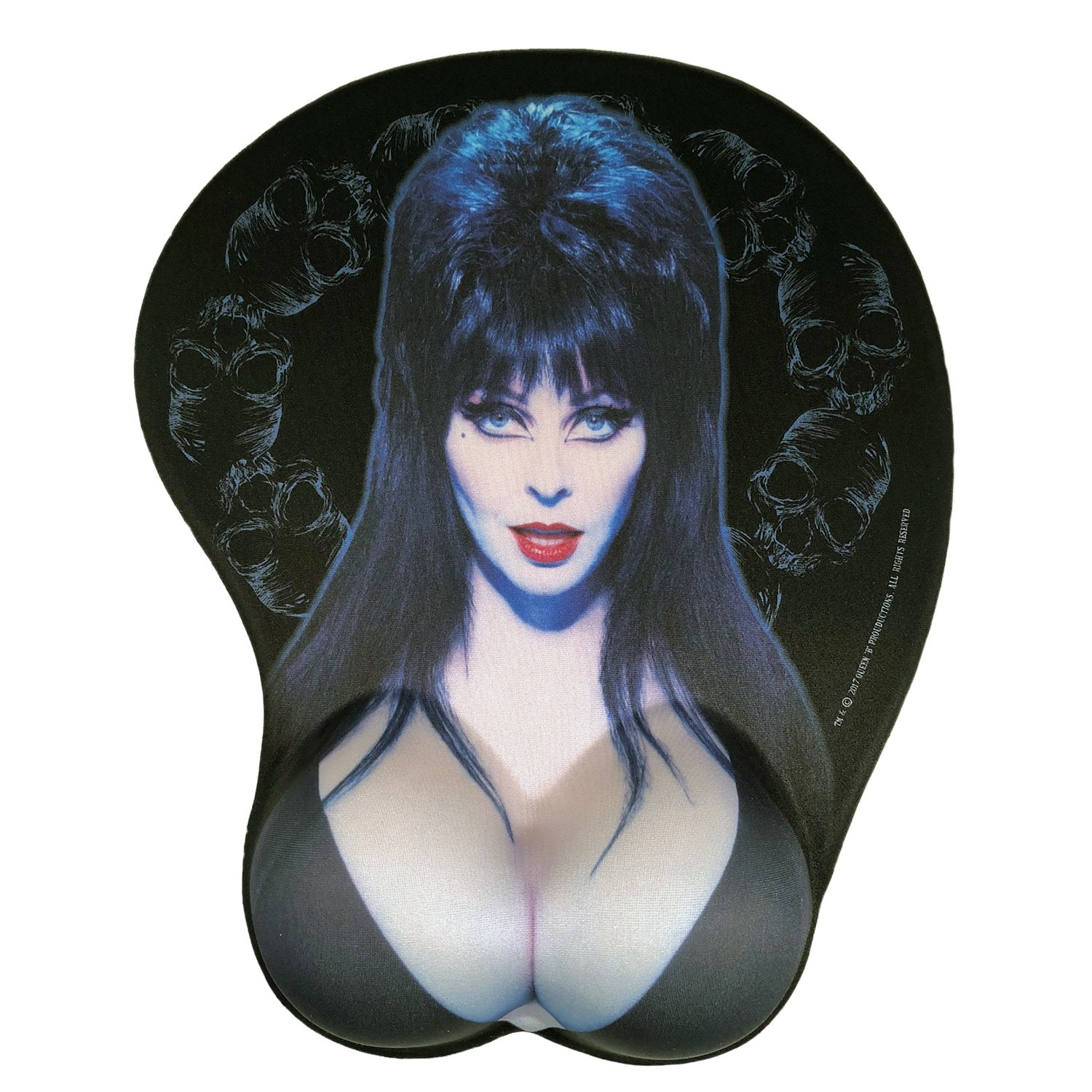 Elvira Mistress Of The Dark Official Mouse Pad With Silicon Gel Wrist Rest by Kreepsville 666