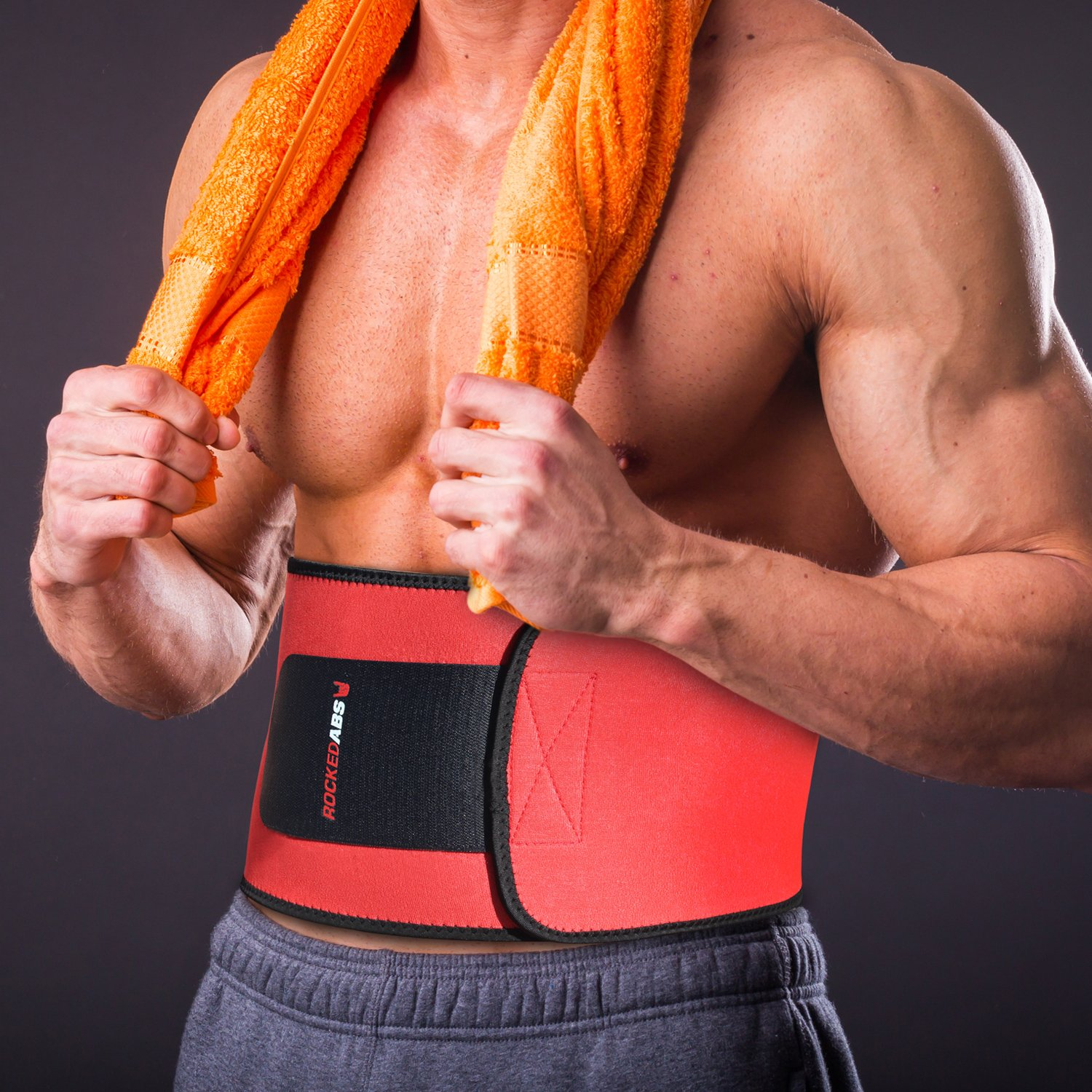 ac5d757194 Amazon.com   1 Workout Waist Trimmer Belt for Men and Women - Pro Fitness  Trainer Quality - Provides Back Support While Burning Belly Fat - Fully  Adjustable ...