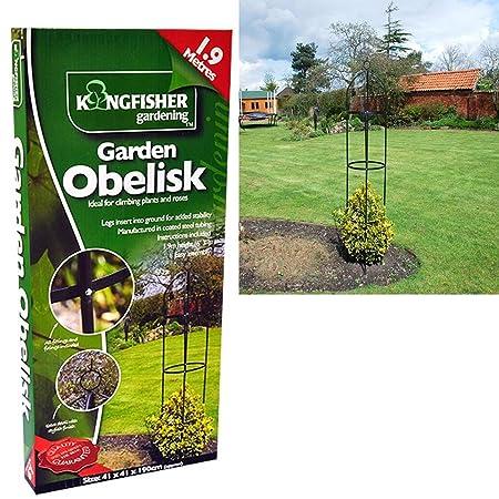 Home & Garden Garden Steel 1.9m Meter Garden Lawn Rose Plant Frame Support Other Structures & Shade
