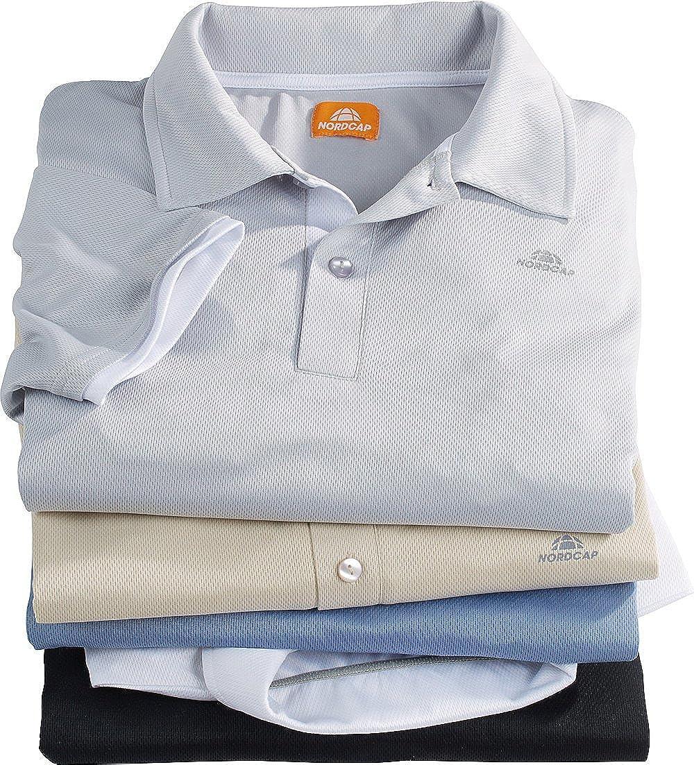 Nordcap Poloshirts Funktionsshirts, 5er Pack hochwertige hochwertige hochwertige Herren Kurzarm-Polos (Größen  M - XXXL, Farben  Beige, Weiß, Graublau, Grau, Schwarz) B06ZZJG9WB Poloshirts Heißer Verkauf 399d4a