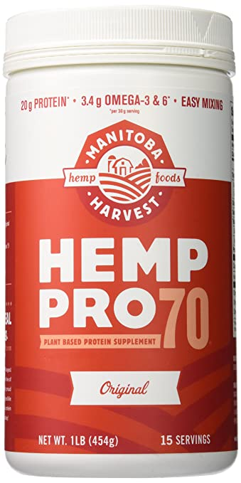 Manitoba Harvest, Hemp Pro 70, Protein Powder, Meal Replacement