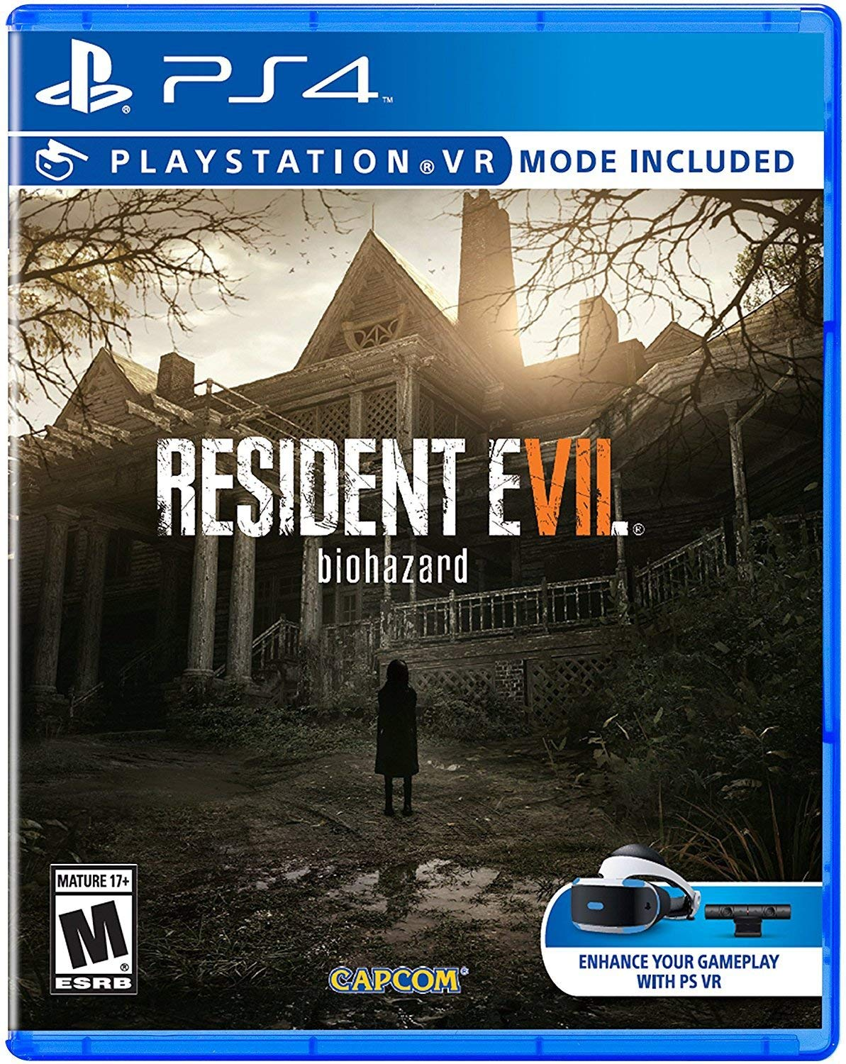 Amazon Com Resident Evil 7 Biohazard Playstation 4 Resident Evil 7 Biohazard Video Games