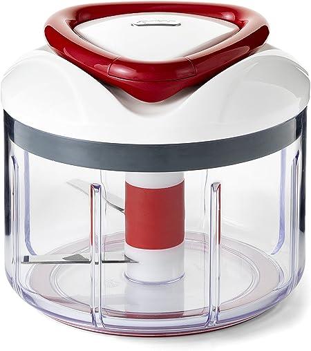 Zyliss easy pull manuel nourriture processeur hachoir mixeur blender rouge