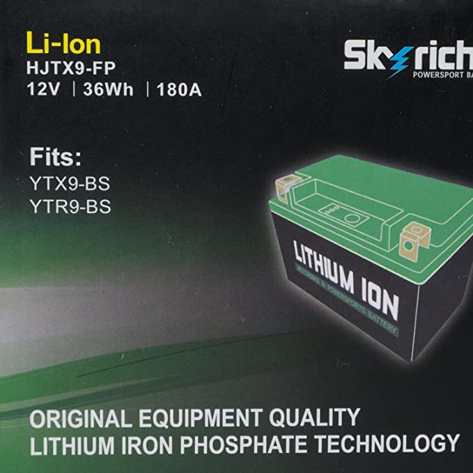 Skyrich Hjtx9 Fp Starterbatterie Auto