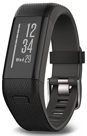 Garmin Vívosmart HR+ - Bracelet de Fitness avec GPS et Cardio Poignet - Taille XL -