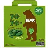 BEAR Fruit Yoyos - 5 X 2 Rolls - Healthy Fruit Snack, Apple, 100 Grams