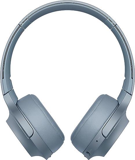 Sony WHH800 - Auriculares de Diadema inalámbricos con Bluetooth, Azul: Sony: Amazon.es: Electrónica