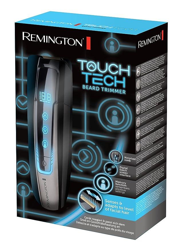Remington MB4700 TouchTech - Máquina de afeitar inalámbrica, tecnología SenseSpeed, GroomMotion, función de memoria, lavable: Amazon.es: Salud y cuidado ...