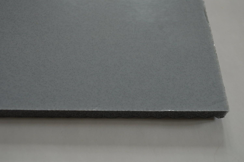 foamforall Esterilla Aislante, absorción Estera, offenzelligem Espuma de Poliuretano, Relieve, Autoadhesivo, 2 m x 1 m Grosor 10 mm: Amazon.es: Coche y moto