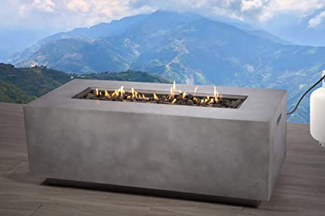 Propane Outdoor Fire Pit Cm 1012c Rectangular Gas Fire Table Table For Balcony Courtyard Balcony