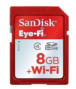 tarjetas de memoria wifi