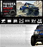 Thunder Tiger TOYOTA HILUX 1/12 PICK-UP TRUCK RTR
