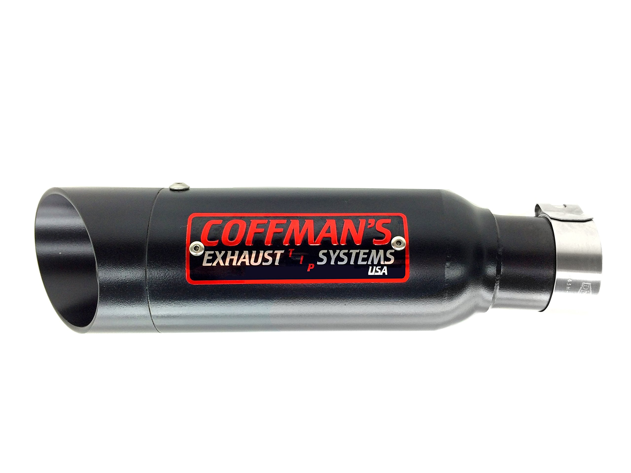Coffman's Shorty Exhaust for Honda CMX 500/300 Rebel 2017 Sportbike with Black Tip by Coffman's Exhaust