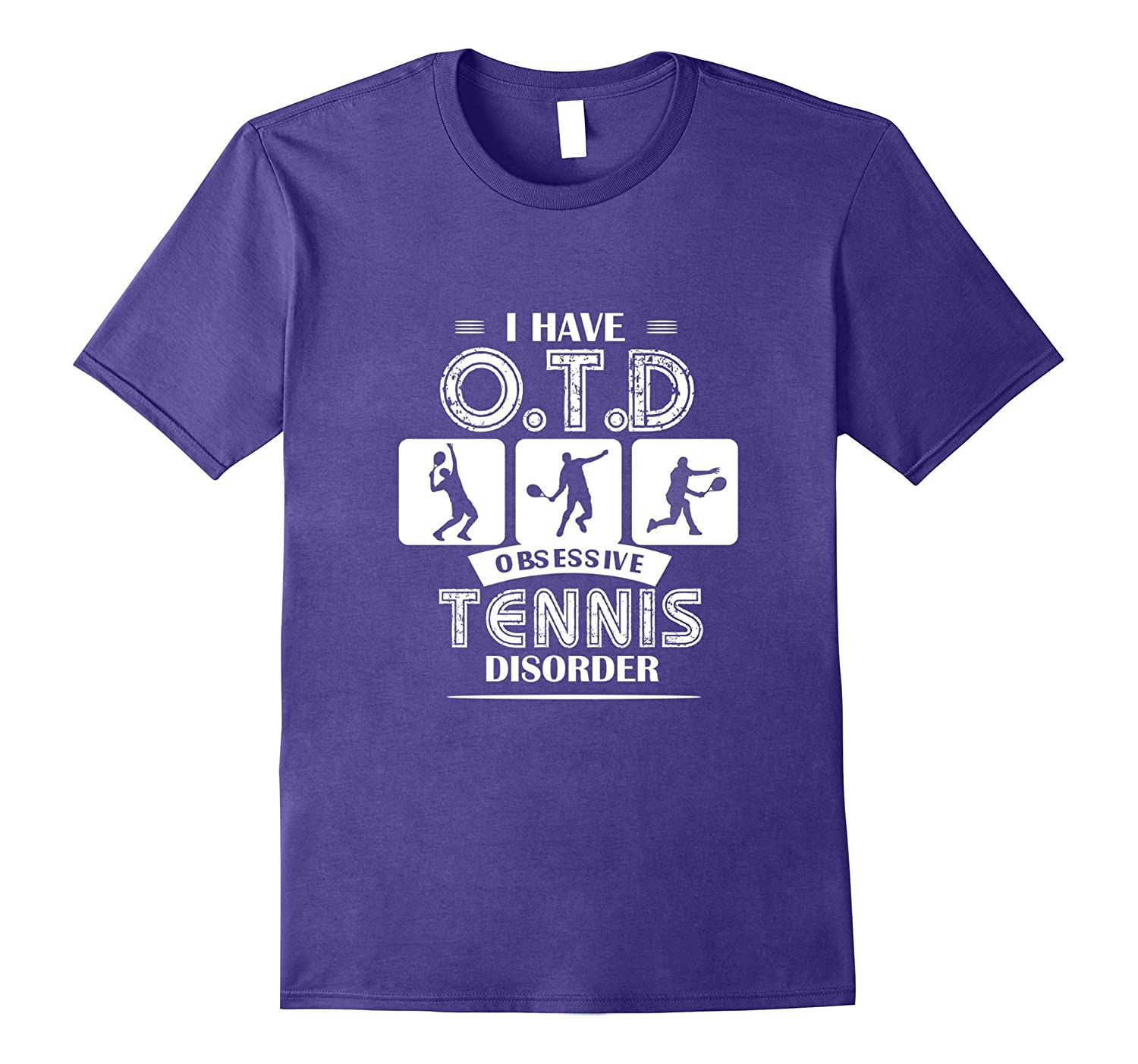 I Have Obsessive Tennis Disorder Funny Tennis T Shirt-Art